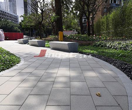 公园仿石透水砖